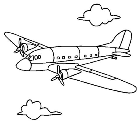 water plane coloring page parts of an airplane coloring page kids coloring page