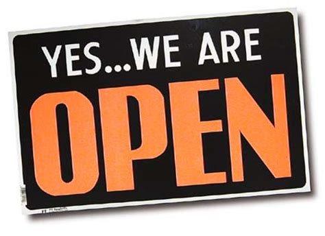 we are open today march 7th, 2008   the official jones