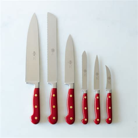 red kitchen knives red handled italian kitchen knives