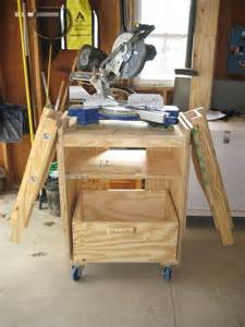 how to make a saw bench proy wood guide to get knock down table saw station