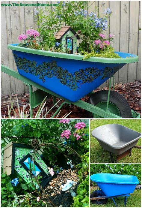 wheelbarrow garden ideas you ll tutorial