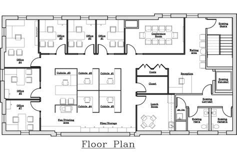 office space floor plans office space floor plan creator fromgentogen us