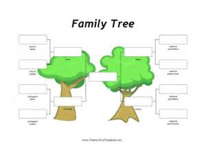 single parent family tree template donor and surrogate family tree template