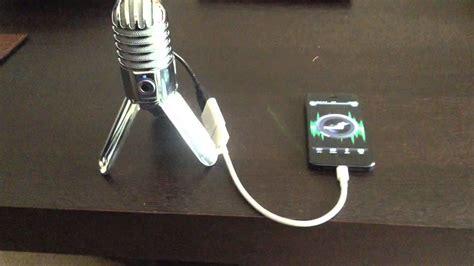 samson usb mic iphone 5