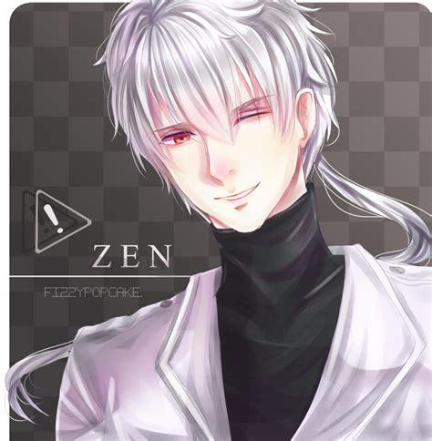 anime zen mystic messenger fanart zen by fizzypopcake on deviantart