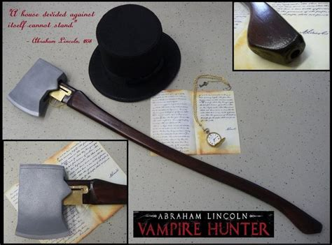 abraham lincoln the vire trailer abraham lincoln axe gun by challenger70ta