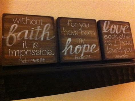 scripture art home decor wall art faith hope love set 1000 images about faith hope love on pinterest