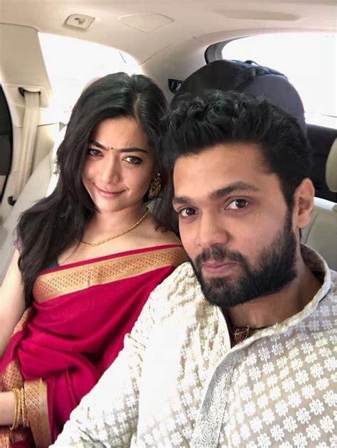 heroine rashmika husband photos geetha govindam movie heroine rashmika mandanna latest stills