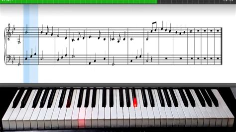 tutorial piano download free greensleeves vaughan williams synthesia piano sheet
