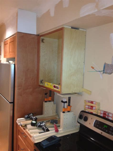 kitchen cabinet forum shop made adjustable cabinet jacks woodweb s shop built