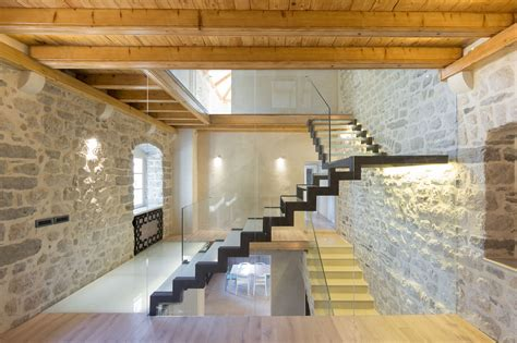 Old Homes With Modern Interiors modern renovation of a 19th century old stone house in montenegro