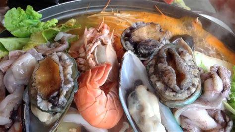 korean steamboat korean live seafood steamboat youtube