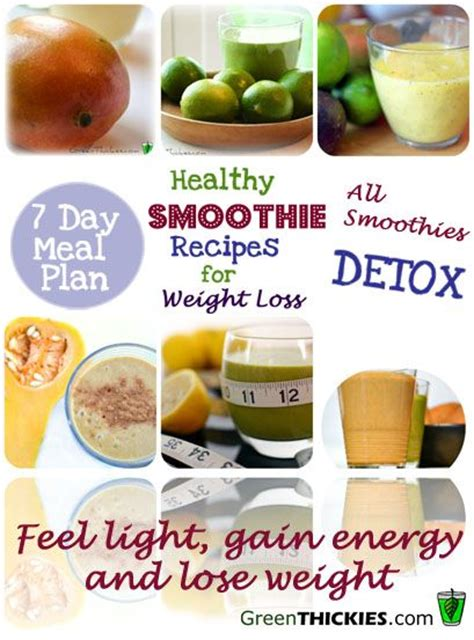 Smoothies For Weight Loss And Detox by Healthy Meal Plans For Weight Loss 2 Healthy Smoothie