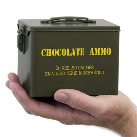 chocolate ammo, chocolate guns & bullets www