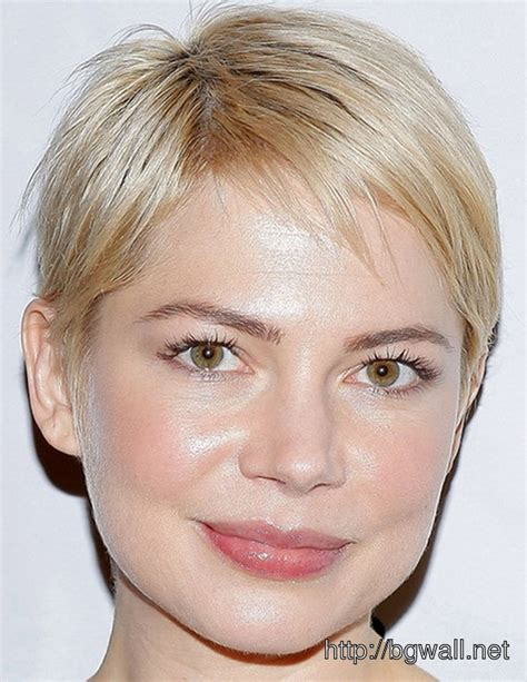 thin hair fat neck pixie cut fat face double chin short hairstyle 2013