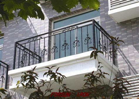 wrought iron balcony railing designs ornamental elegant
