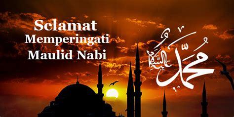 kata kata ucapan selamat hari maulid nabi muhammad