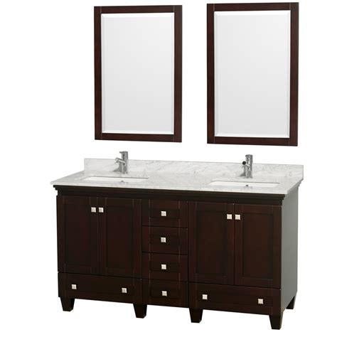 Wyndham Bathroom Vanities by 60 Quot Acclaim Bathroom Vanity Set By Wyndham