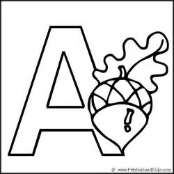 free coloring pages of printable alphabet