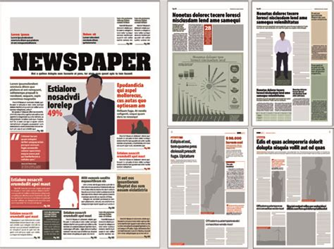newspaper layout design book newspaper template free vector download 13 042 free