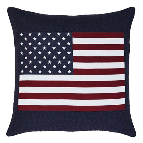 Pillow Brands by Flag Applique Pillow By Vhc Brands The Patch