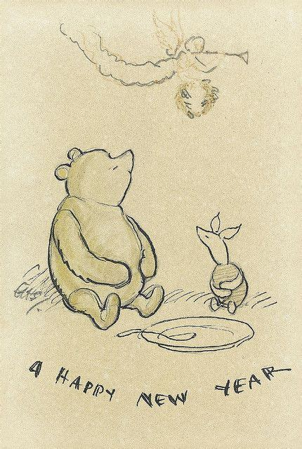 winnie the pooh new year quotes frohes neues jahr silvester and ferkel on