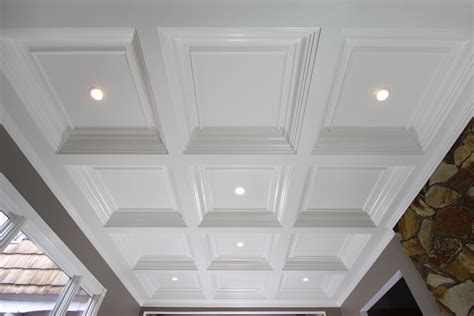 Wainscoting Ceiling Ideas Coffered Ceilings Wainscot Solutions Inc