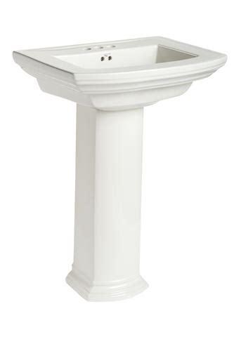 Mansfield Sink by Mansfield Barrett Pedestal Bathroom Sink 4 Quot Faucet
