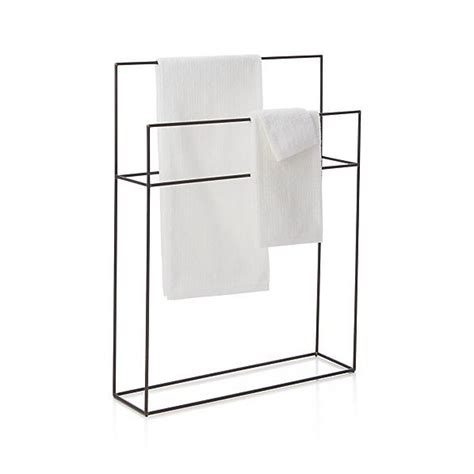 Floor Standing Towel Rack by Jackson Wall Mount Towel Rack Crate And Barrel