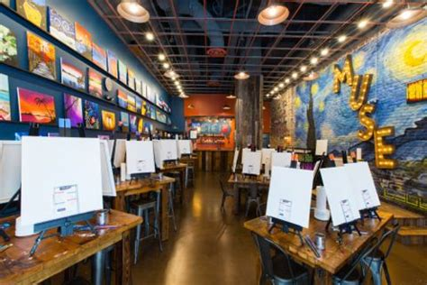 muse paint bar address new location for muse paintbar opens in mosaic district