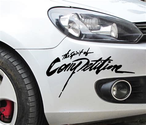 Audi Competition Aufkleber by 28 13cm 2016 New Arrival Car Styling Sticker The Spirition
