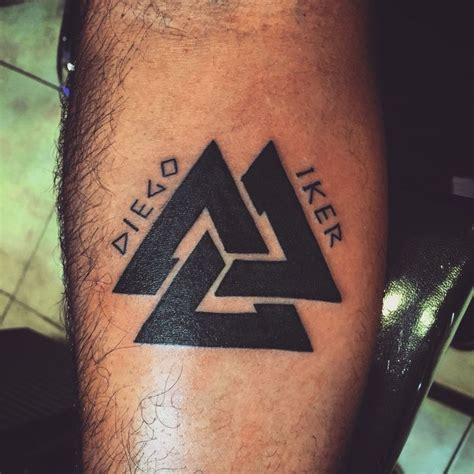 valknut tattoo meaning valknut tattoo designs www imgkid com the image kid