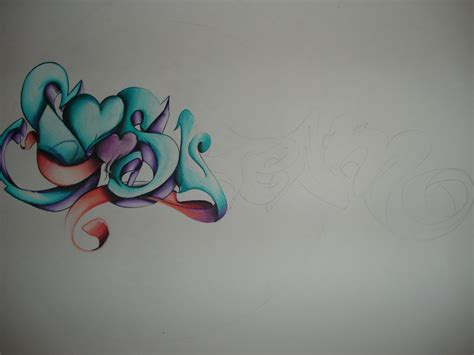 te amo tattoo designs imagenes que digan te amo en graffiti con una flor