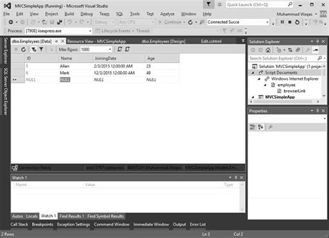 Records Databases Asp Net Mvc Databases