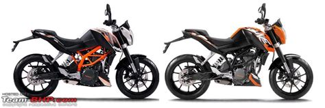 Difference Between Ktm 200 And 390 Ktm Duke 390 375cc 45 Ps 150 Kg Page 6 Team Bhp