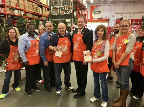 rep zeldin tours home depot facility in patchogue