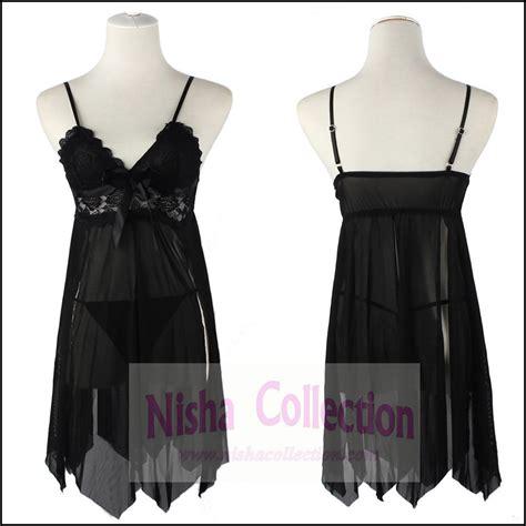 Baju Tidur nisha collection babydoll baju tidur malaysia