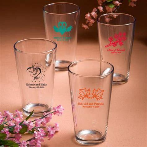 Personalized Wedding Giveaways - wedding gifts personalized pint glasses wedding favors 1180895 weddbook