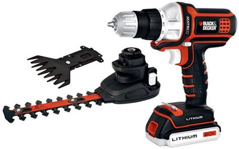 www black and decker new black decker matrix hedge trimmer and shear attachments