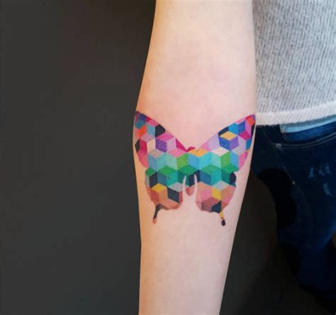geometric butterfly tattoo 35 breathtaking butterfly designs for