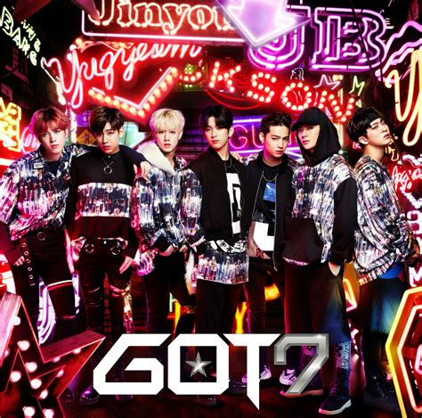 got7 japan album got7 s japanese mini album hey ya got7 갓 세븐