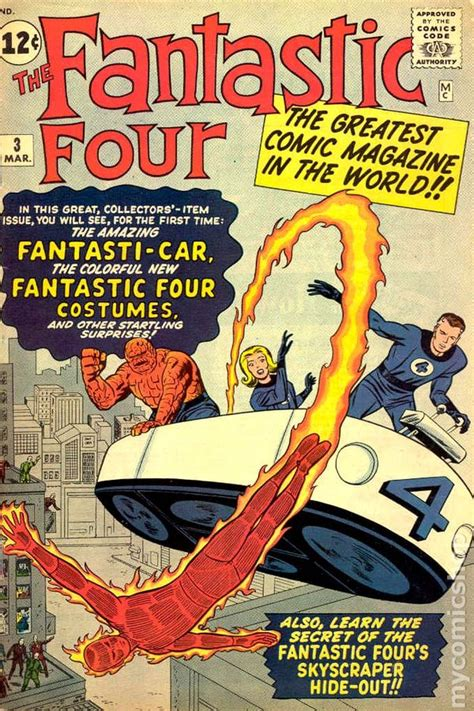 Fantastic Firsts For by Fantastic Four 1961 1st Series Comic Books