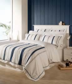 White King Size Duvet Cover Sets Christy Coastal Stripe Bedding Nautical 200 Thread Count