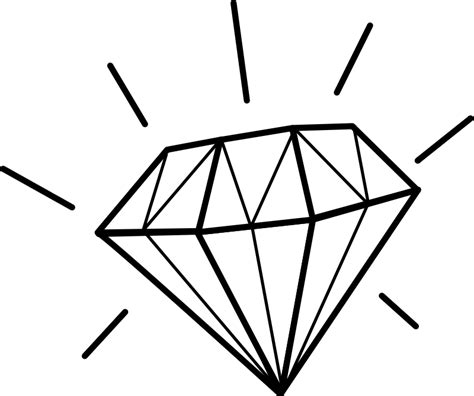 diamond tattoo vector diamant diamond free vector 4vector