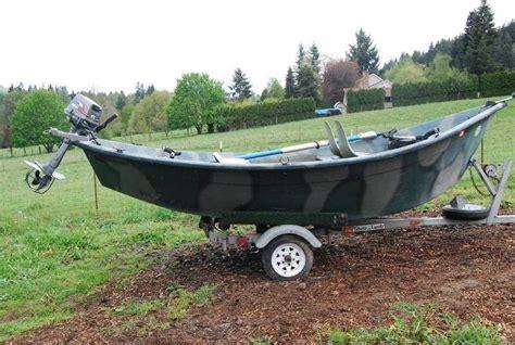 drift boat motor well 16 drift boat and motor northwest firearms oregon