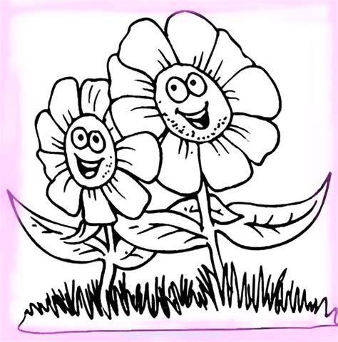imagenes para pintar las uñas sonrisas en im 225 genes de flores de primavera para colorear