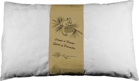 cuscino di cuscino di cirmolo e cotone naturale plus 80x50cm
