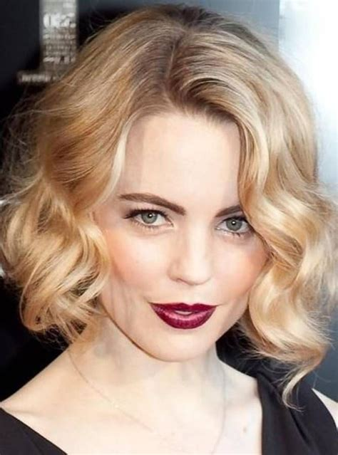 pin curls on a bob celeb curly formal hairstyles for medium hair celebs