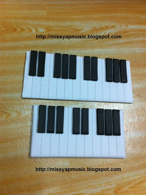 How To Make A Paper Piano - msyap violin piano 音乐教室 handmade diy silent piano keyboard