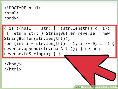 java program for reverse pattern how to reverse the string in java with pictures wikihow